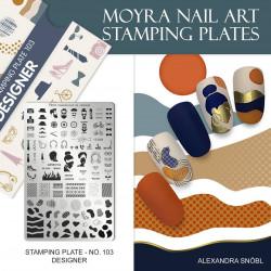 Stamping Plate 103 Designer