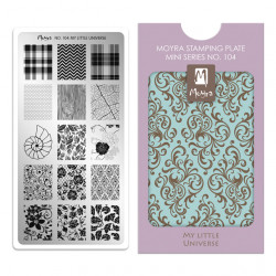 Mini Stamping Plate 104 My...