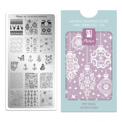 Mini Stamping Plate 105 My...