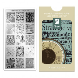 Mini Stamping Plate 107 A...