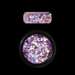 Moyra Holo Glitter Mix 03 Rose