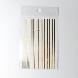 Nail Art Stripes gold