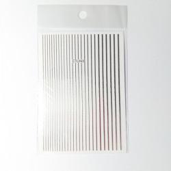 Nail Art Stripes silver