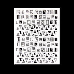 Nail Art Sticker No.02