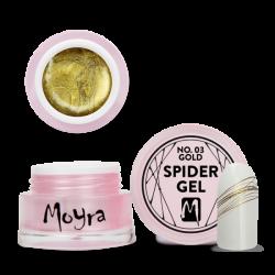 Moyra Spider Gel 03 Gold