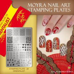 Stamping Plate 20 Orientalist
