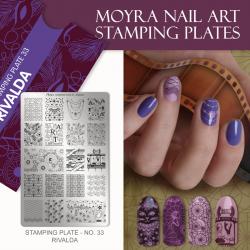 Stamping Plate 33 Rivalda