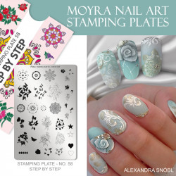 Stamping Plate 58 Step by Step