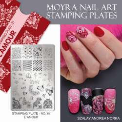 Stamping Plate 61 L'amour