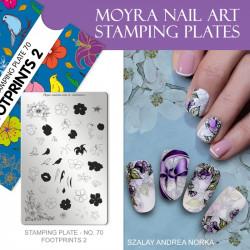Stamping Plate 70 Footprints 2