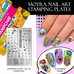Stamping Plate 86 Stamp Chat