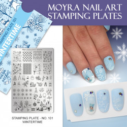 Stamping Plate 101 Wintertime