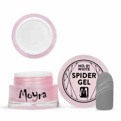 Moyra Spider Gel 01 White