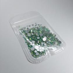 Strass green opal SS4-SS20...